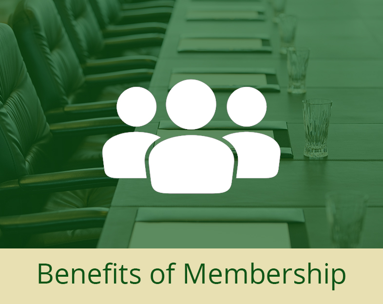 Benefits of Membership quick link
